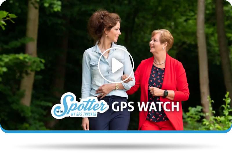GPS tracker senioren - Spotter