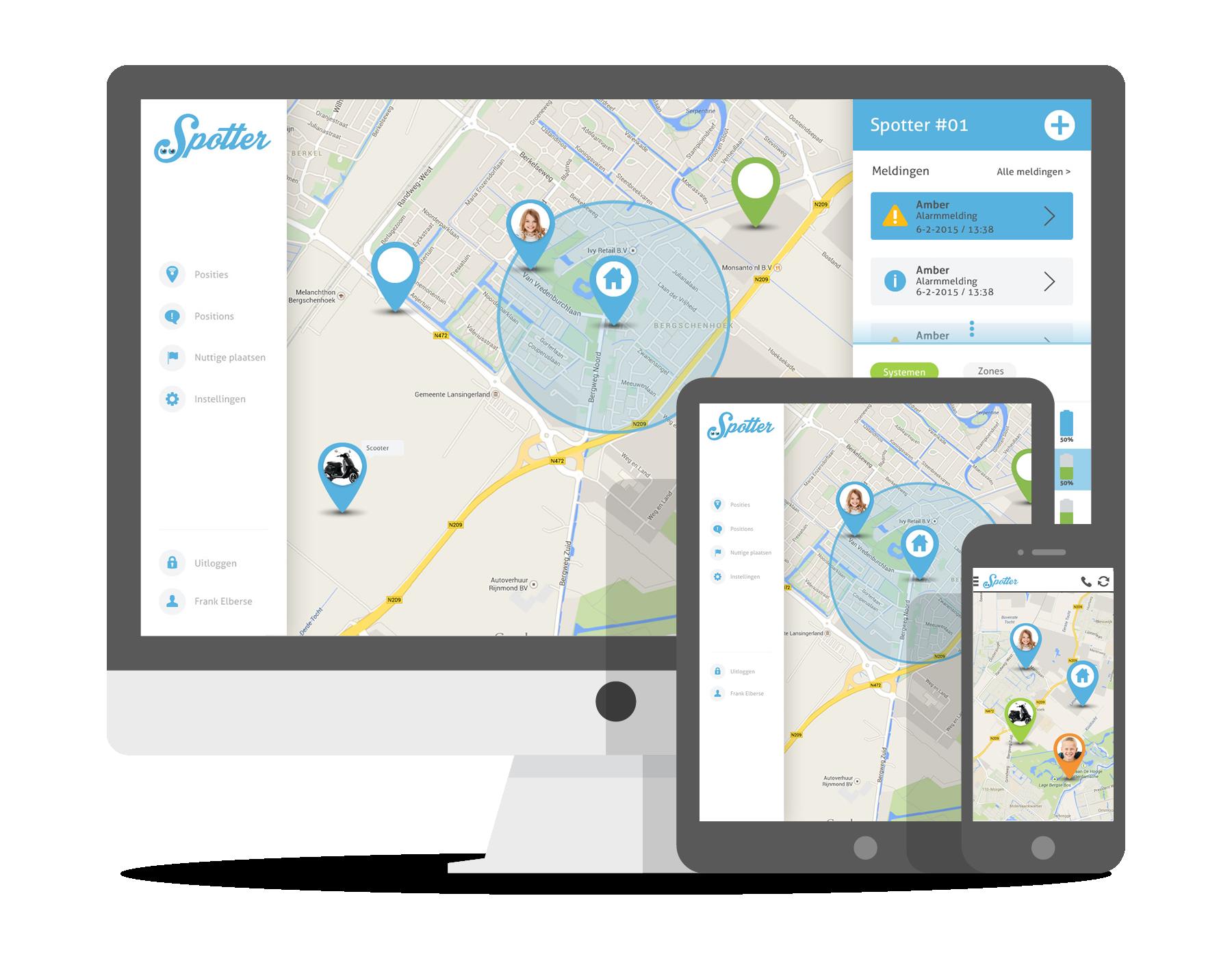 Spotter GPS tracker online