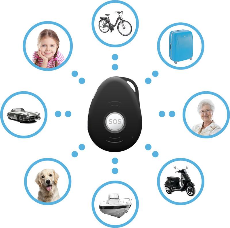 GPS tracker Spotter - funktionen