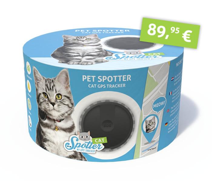 Katze gps tracker - Pet Spotter Verpackung