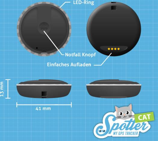 Pet-Spotter- Spezifikationen