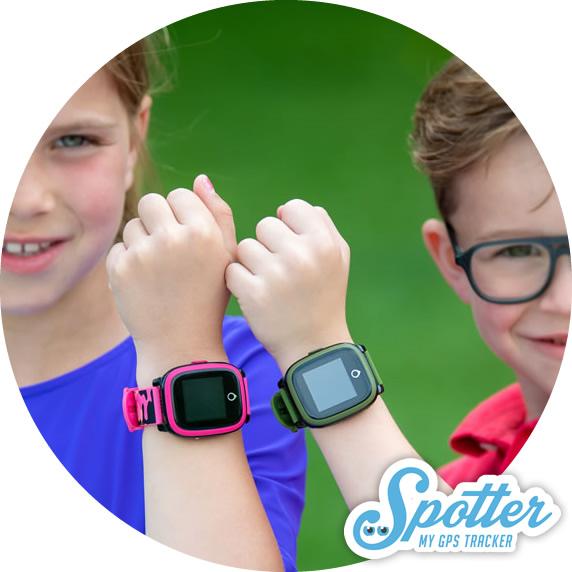 Montre connectee enfant - Spotter