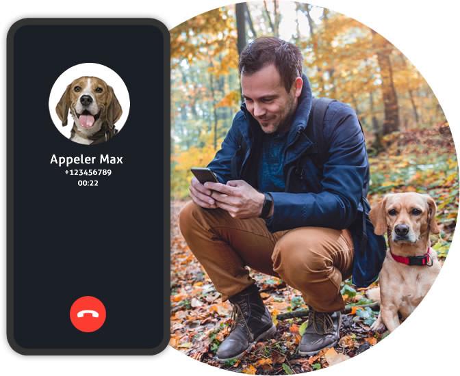 GPS chien Spotter - appeler