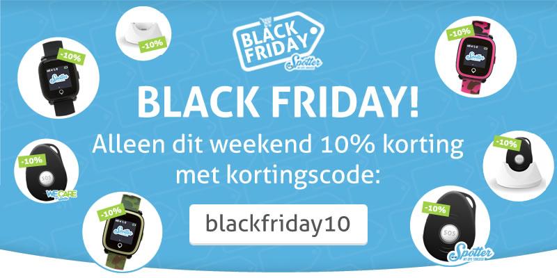 Black Friday! Alleen dit weekend 10% korting