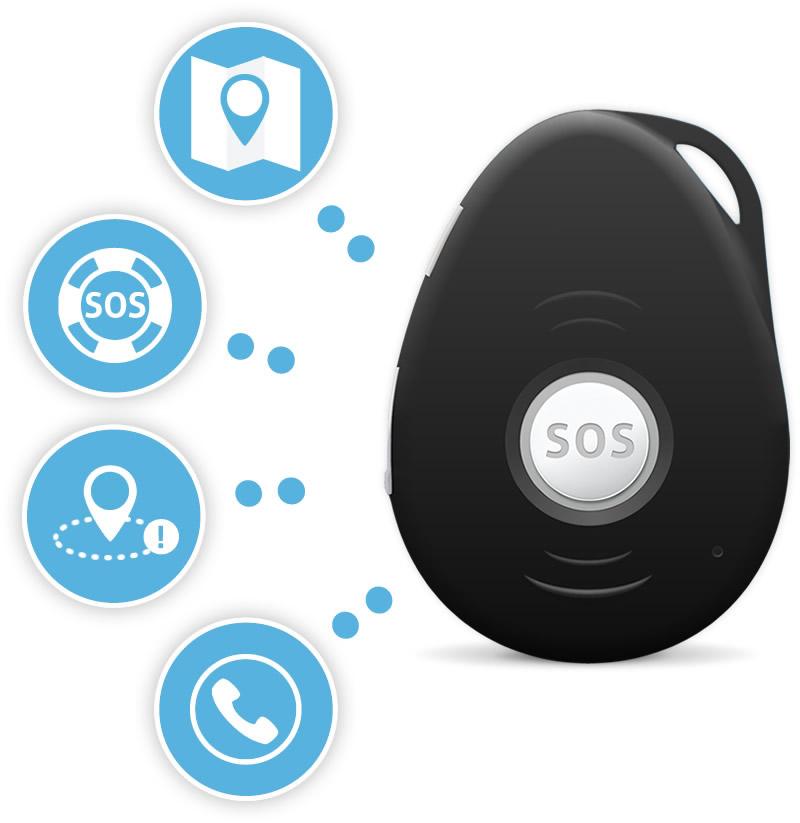 Motor GPS tracker functies