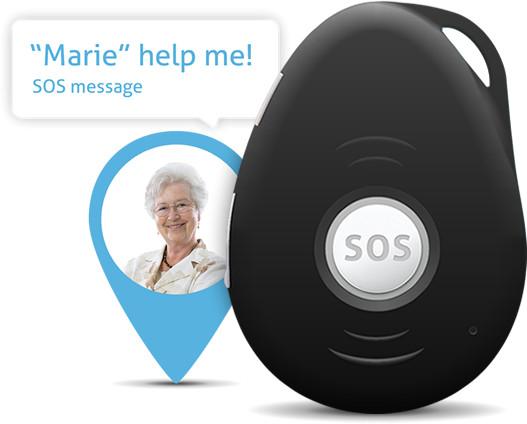 GPS tracker Alzheimer Spotter