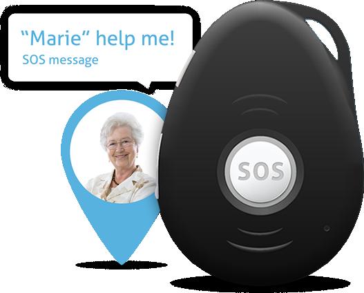 Alarmknop GPS tracker