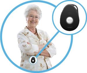GPS tracker dementie Spotter
