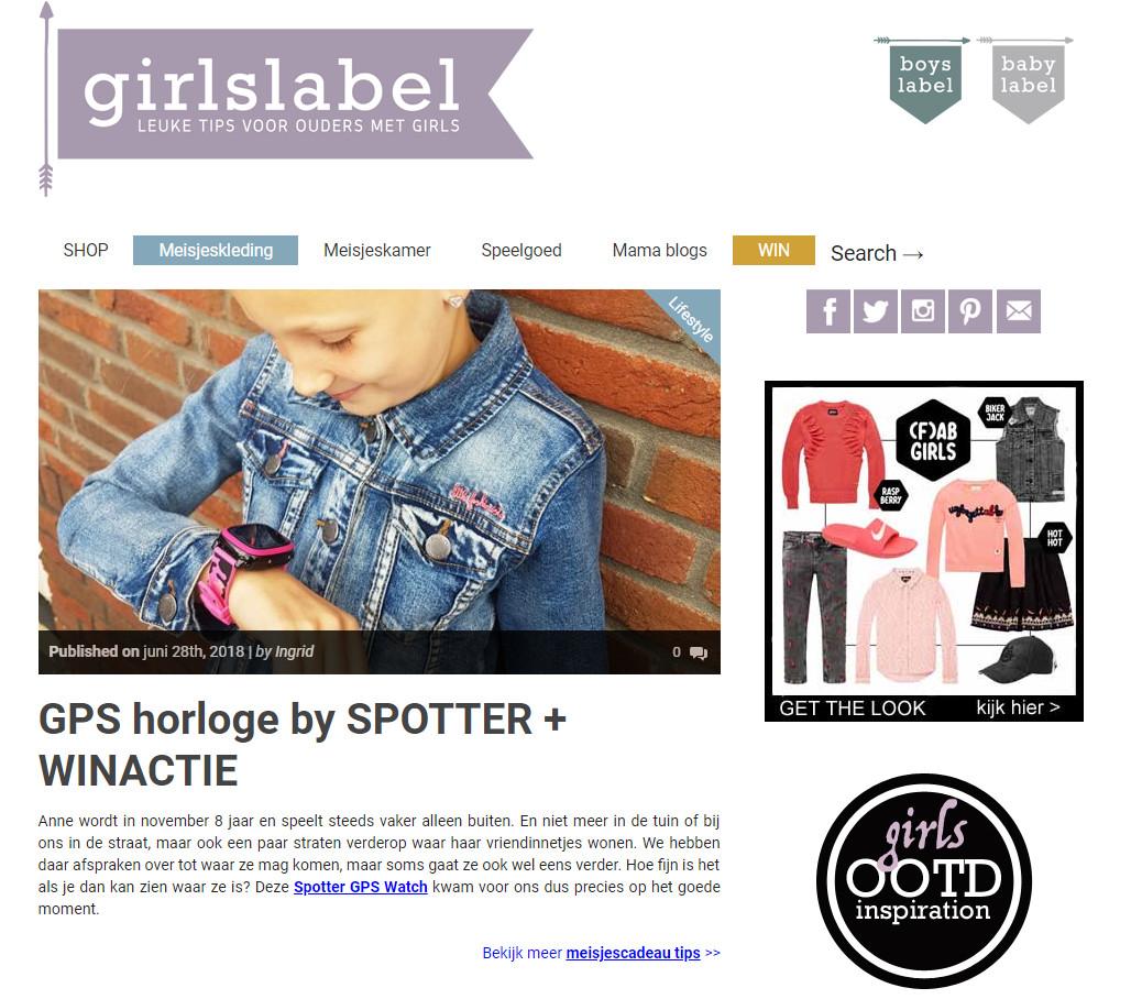 Girlslabel foto