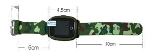 Afmetingen Spotter GPS Watch