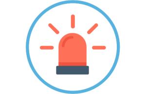 GPS horloge SOS alarm