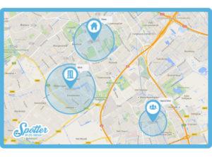 GPS horloge Spotter zones