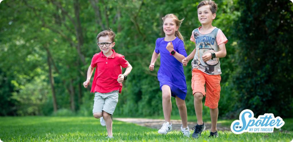 GPS horloge kind Spotter rennen