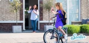 Kinder smartwatch uitzwaaien