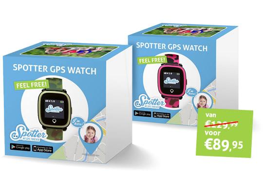 Spotter GPS Horloge kind verpakking