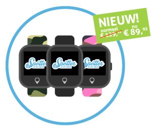 GPS horloge kind - Spotter Watch