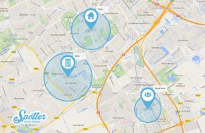 GPS Horloge Spotter - Zones