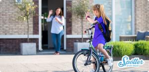 GPS horloge kind Spotter_naar school