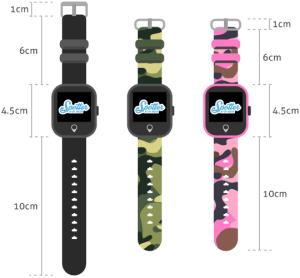 GPS Horloge - Afmetingen