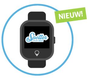 GPS Horloge kind - Spotter