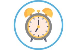 Peuter horloge - Wekker