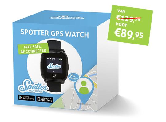 Spotter GPS horloge bij alzheimer en dementie kopen