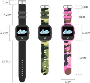 SOS bandje GPS horloge afmetingen