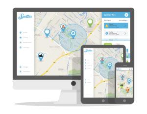 SOS bandje GPS horloge online account
