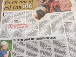 Spotter Telegraaf Publicatie