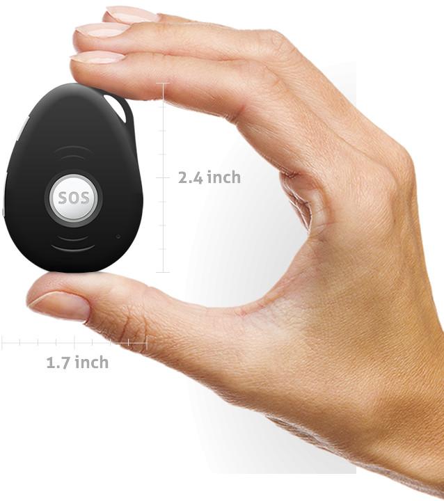 Mini GPS tracker - Spotter hand