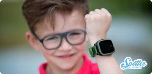 Mag je kind volgen met gps tracker - Spotter