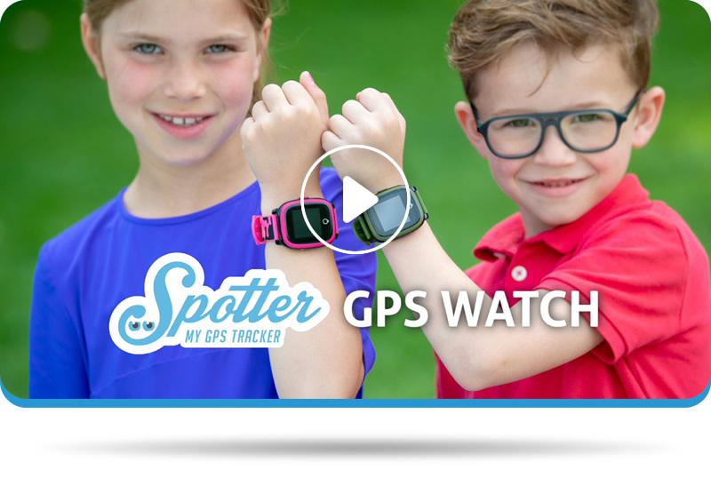 GPS kinderhorloge Spotter - video