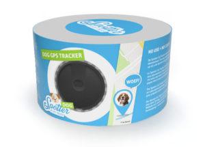gps tracker hond - Spotter verpakking
