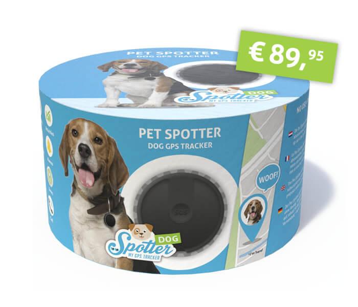 GPS tracker hond - Spotter