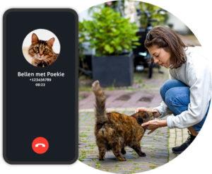 GPS tracker kat - SOS knop Spotter