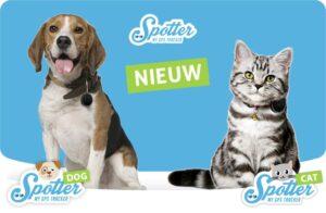 Pet Spotter katten en honden gps tracker