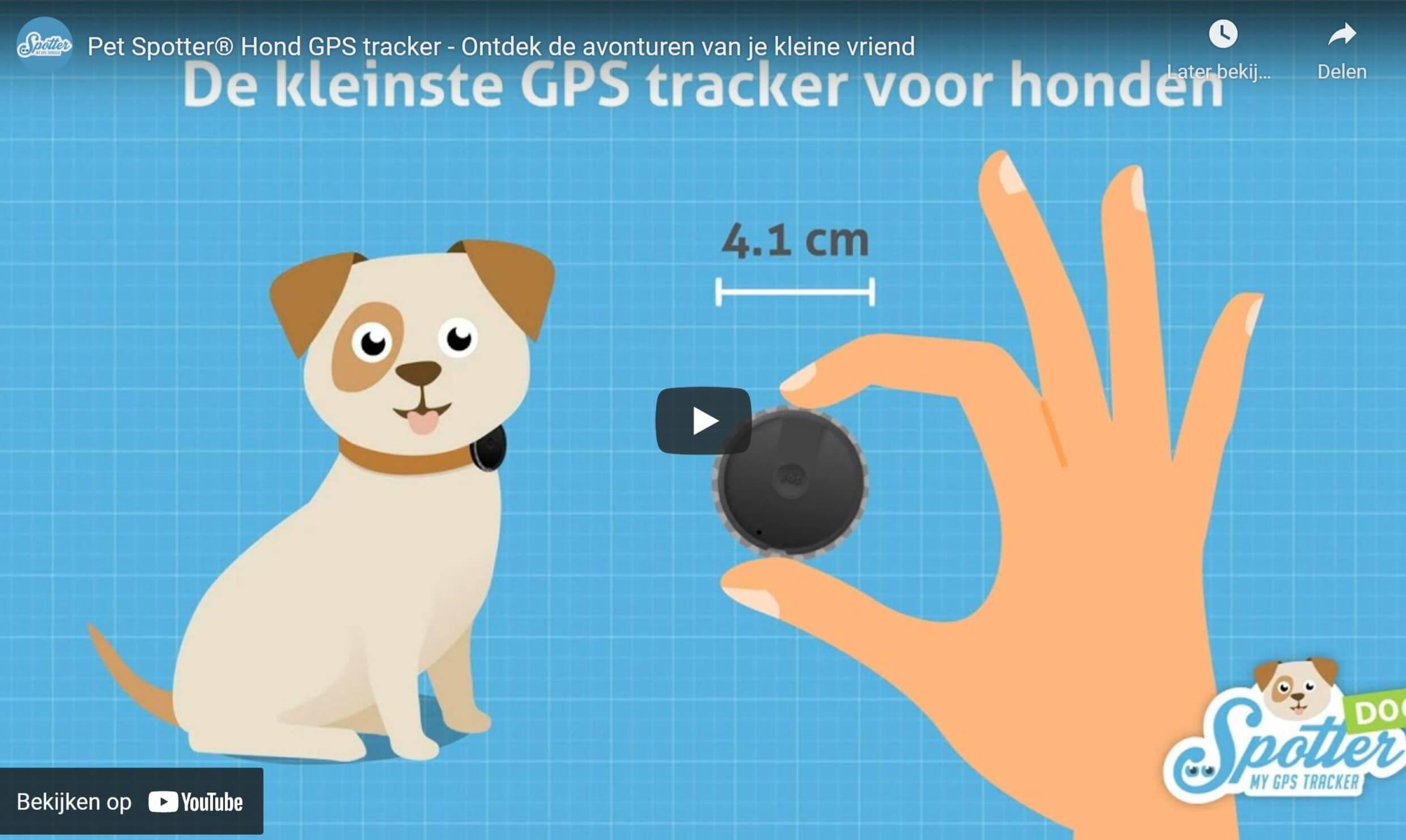 Pet Spotter honden gps tracker video