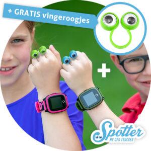 GPS horloge kind - Spotter vingeroogjes