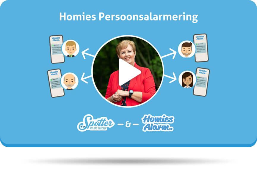 Spotter Homies Persoonsalarmering