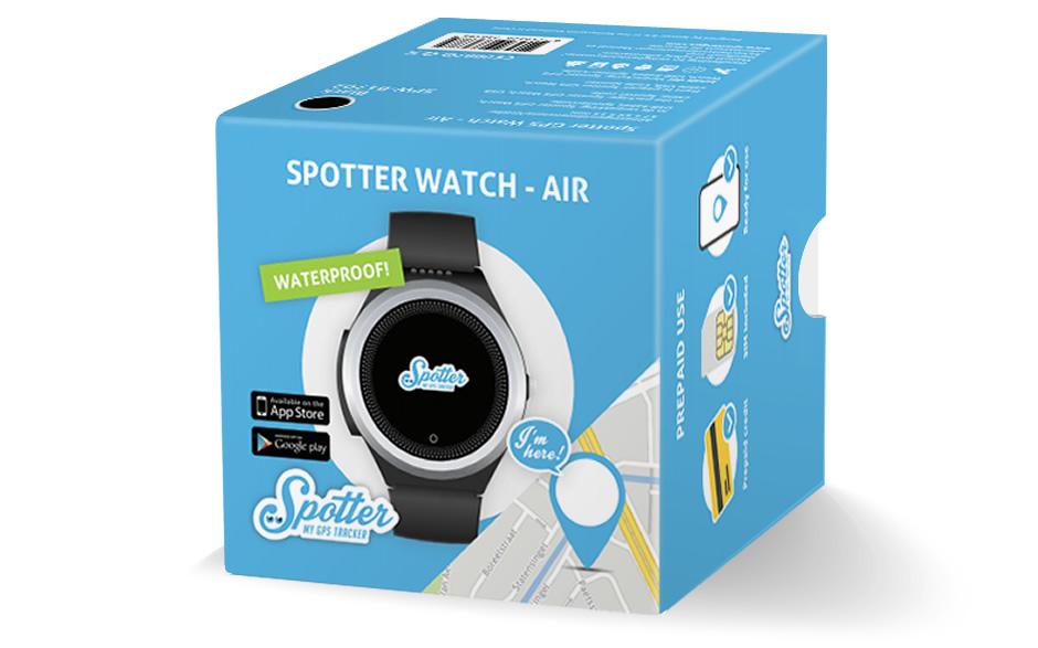 Spotter senioren alarm horloge - verpakking